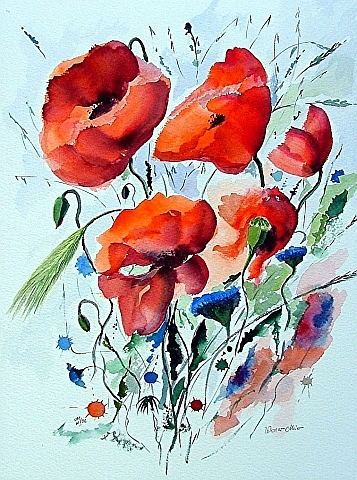 Red Poppies (2006) - Werner Meier