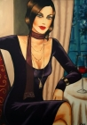 Lady with red wine (2007)