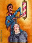 Friseur (Illustrationen) -Barnim Millarg-