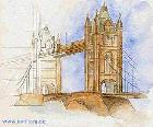 tower bridge (Illustrationen) -Barnim Millarg-