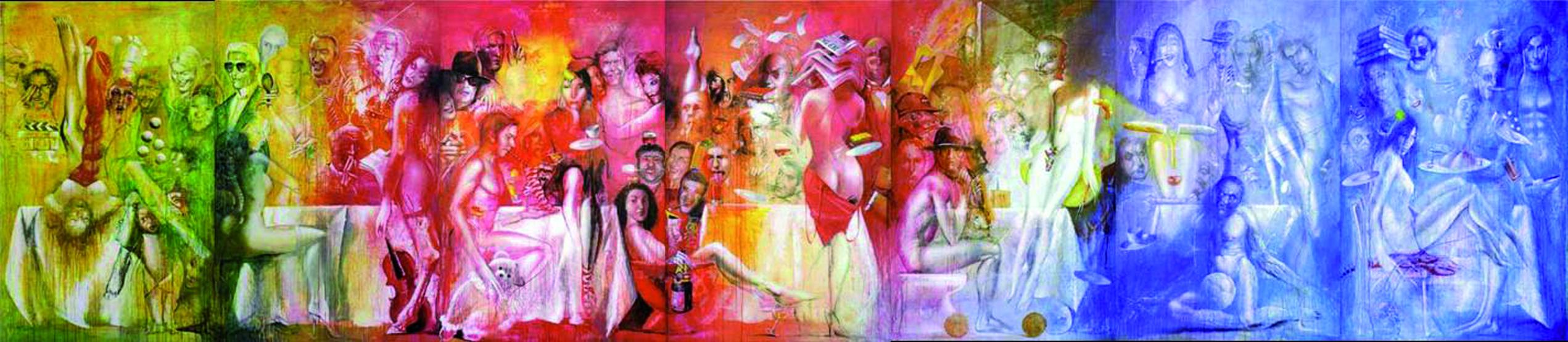 Paris Bar und mehr - Arbeiten von Dimitri Vojnov